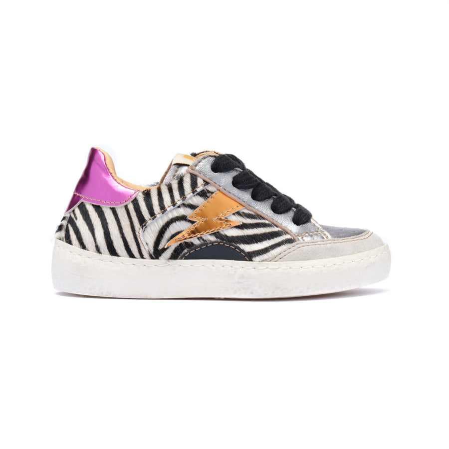 Multicolour Lightning Sneakers D402/8