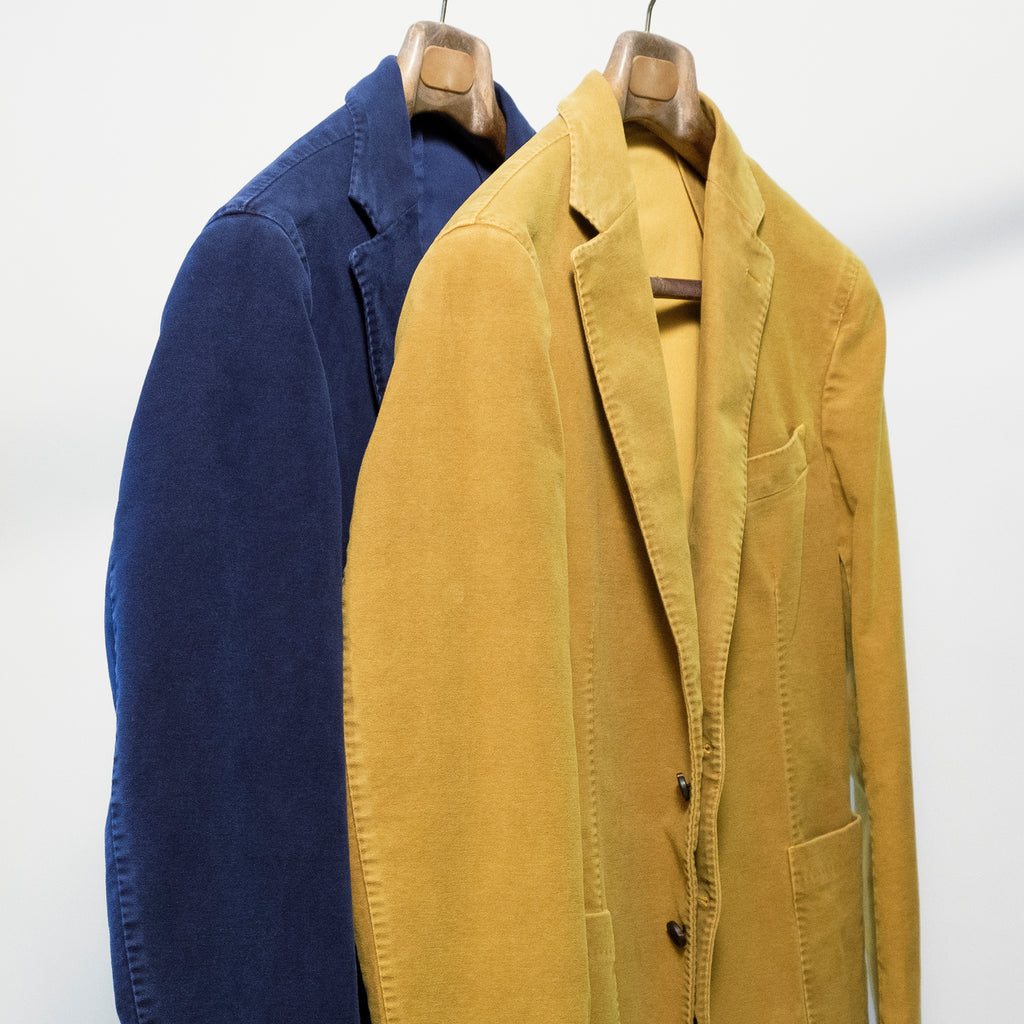solid coloured sports jackets