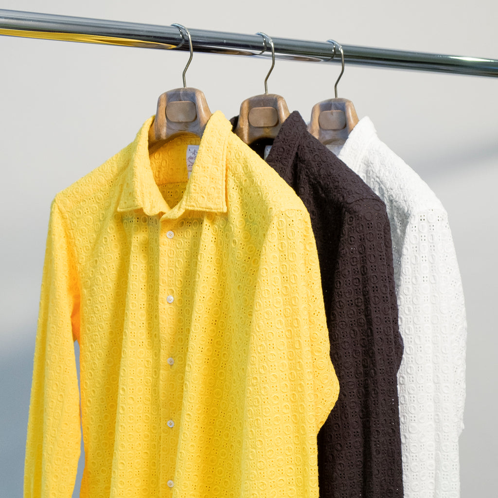 solid coloured shirts