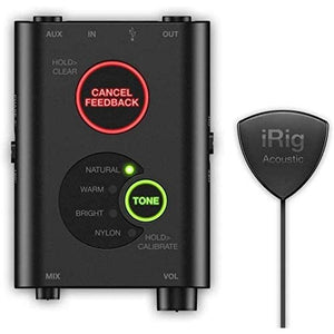 IK Multimedia iRig Acoustic Stage Digital Microphone System for Acoustic Guitars and Instruments
