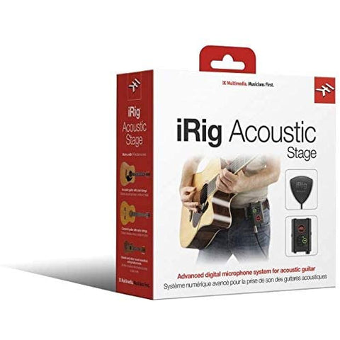 Image of IK Multimedia iRig Acoustic Stage Digital Microphone System for Acoustic Guitars and Instruments