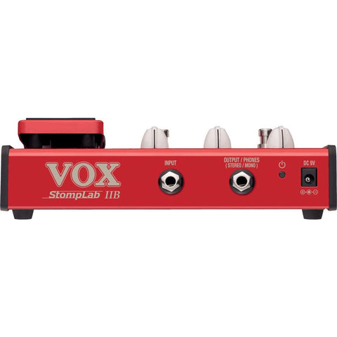 Image of VOX StompLab 2B Multi-Effects Modeling Pedal with Expression for Bass Guitar