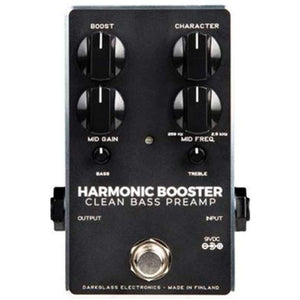 Darkglass Harmonic Booster Clean Bass Preamp v2