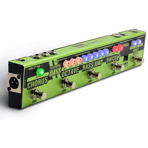VALETON Dapper Bass DI Preamp Stage Session Gigging Gear Multi-Effects Pedal