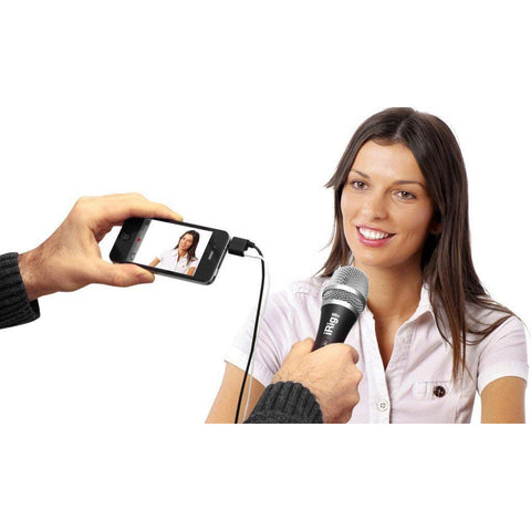 Image of IK Multimedia iRig Mic Handheld Condenser mic for Smartphones and Tablets