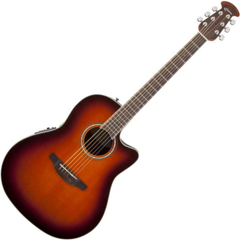 Ovation CS24-1 Celebrity Standard Mid-Depth Sunburst Acoustic/Electric Guitar wi