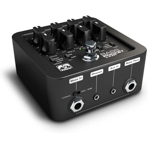 Image of Palmer POCKET AMP BASS Portable Bass Preamp (PEPAMPBASS)