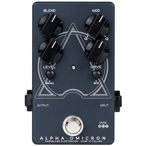 Image of Darkglass Alpha Omicron Bass Preamp OD Pedal