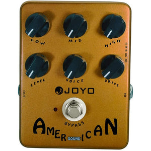 JOYO JF-14 American Sound Overdrive Guitar Pedal from Original Sound to Overdrive Pedal Amplifier Simulation 57 Deluxe AMP Pedal Effect