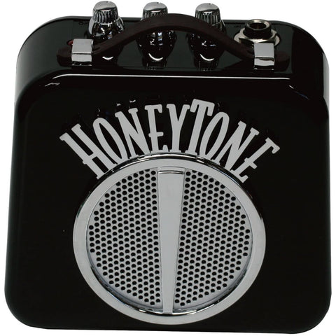 Image of Danelectro Honeytone N-10 Guitar Mini Amp, Black with belt clip