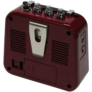 Danelectro N10B Honey Tone Mini Amp in Burgundy