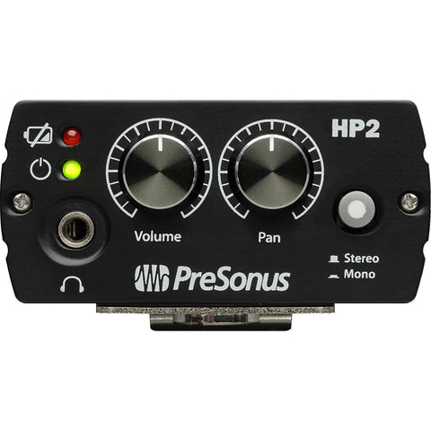 PreSonus HP2 Personal Headphone Amplifier,Black