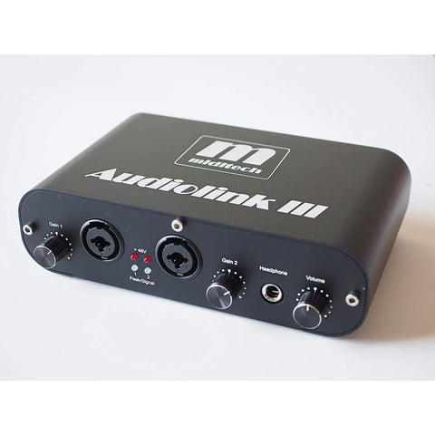 Image of Miditech Audiolink III Audio Interface