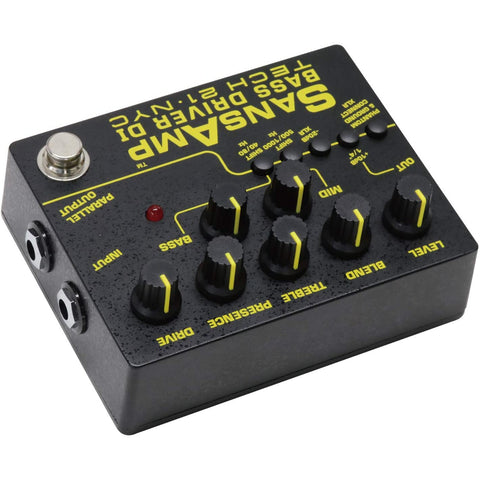 Image of Tech 21 SansAmp Bass Driver DI Effects Pedal