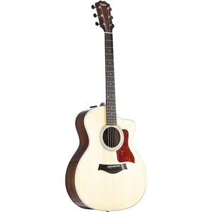 Taylor 214ce Deluxe Grand Auditorium Cutaway Acoustic-Electric Guitar Natural