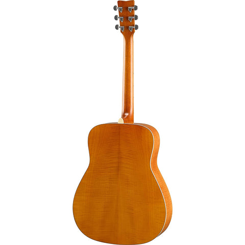 Image of Yamaha FG840 Solid Top Acoustic Guitar, Flamed Maple