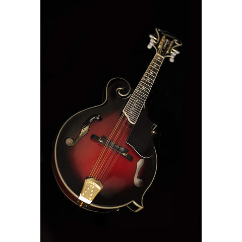 Image of Washburn, 8-String Mandolin, Trans Wine Red (M3SWETWRK-D)