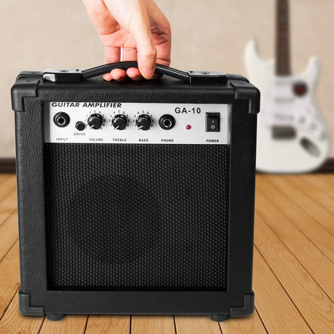 Image of Luvay 10 Watt Electric Guitar Amplifier, with Back Support - Stand