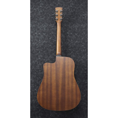Ibanez Performance Series PF12MHCEOPN Mahogany Dreadnought Acoustic-Electric Guitar Satin Natural