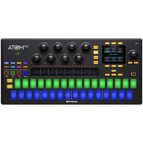 Image of PreSonus ATOM SQ Hybrid MIDI Keyboard/Pad Performance and Production Controller