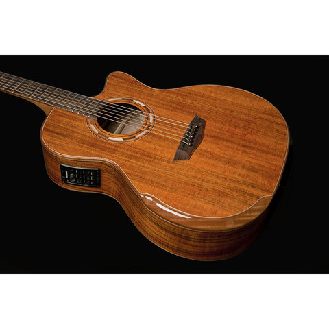Image of Washburn 6 String Acoustic-Electric Guitar, Natural (WCG55CE-O)