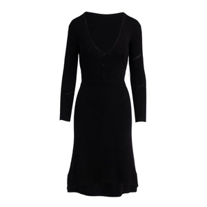 The Irma Sweater Dress - Black