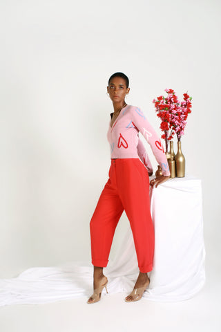 Paperboy Pant - Coral