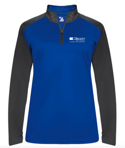 Regent Badger - Ultimate SoftLock™ Women's Sport Quarter-Zip Pullover
