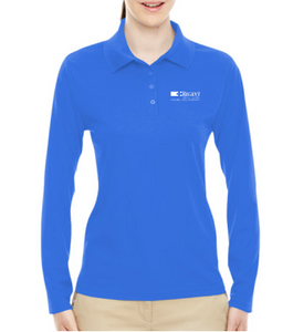 Regent Ladies' Pinnacle Performance Long-Sleeve Piqué Polo