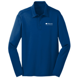 Regent Men's Eperformance™ Snag Protection Long-Sleeve Polo
