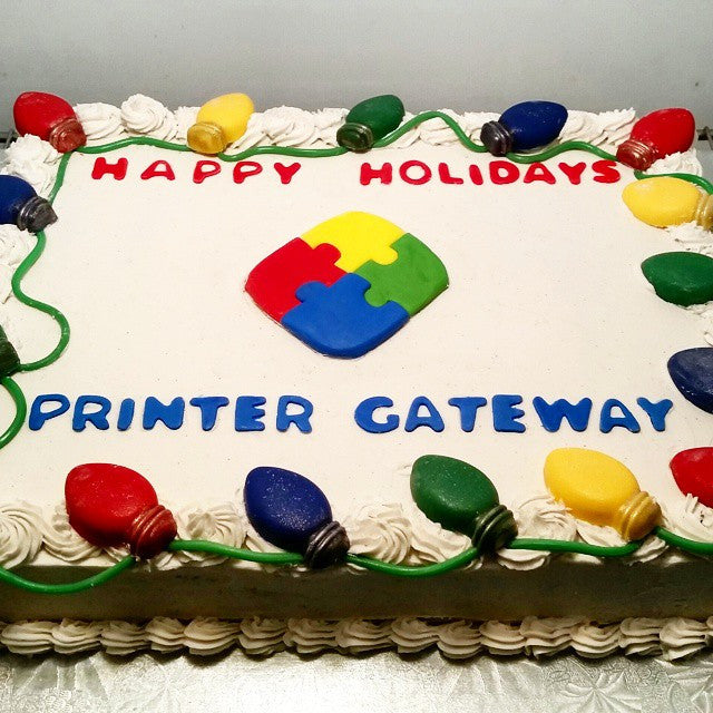 Corporate Holiday Cake Smoochies Creations