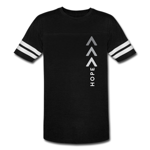 Hope is Greater Vintage Sport T-Shirt - black/white