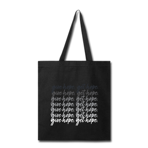 CHE Give Hope, Get Hope Tote - black