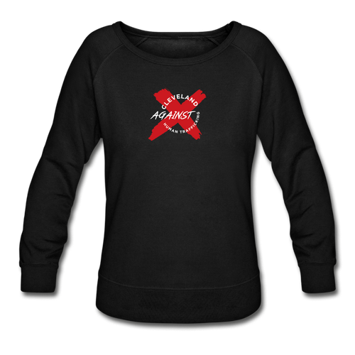 Women's Crewneck Sweatshirt - black
