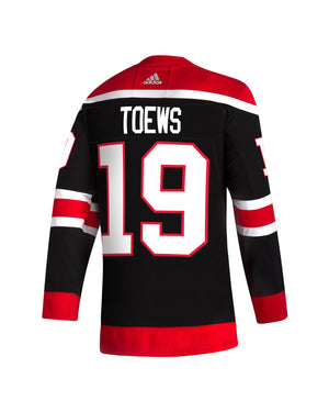 Toews Pre-Lettered adidas Reverse Retro Jersey