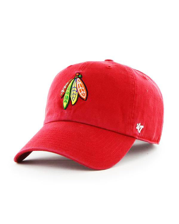 '47 Red Four Feathers Clean Up Cap