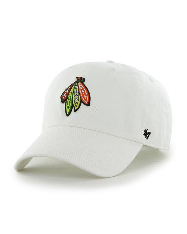 '47 White Four Feathers Clean Up Cap