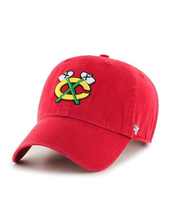 '47 Red Secondary Logo Clean Up Cap
