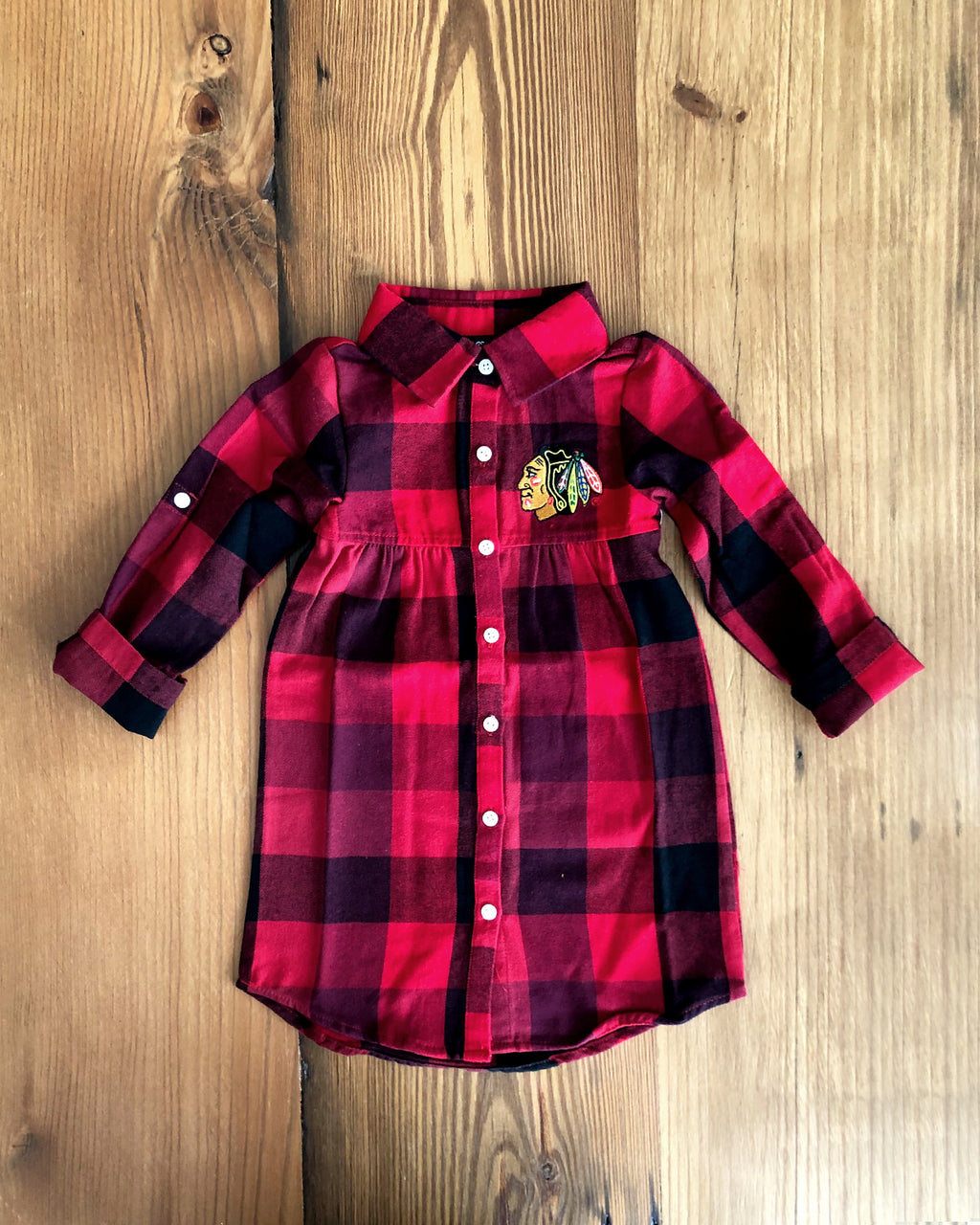 Toddler Colosseum Plaid Dress