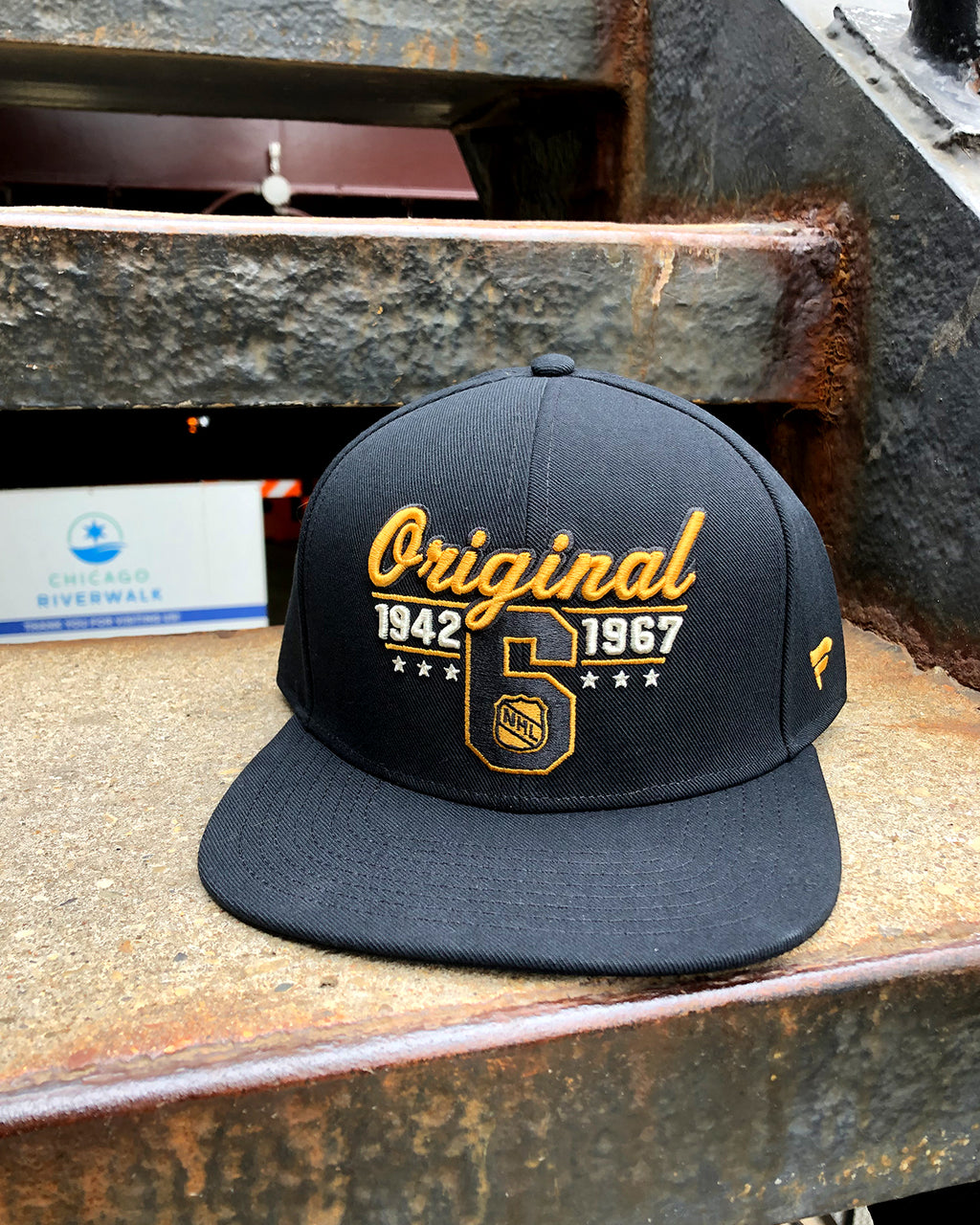 Fanatics Original Six Snapback Cap