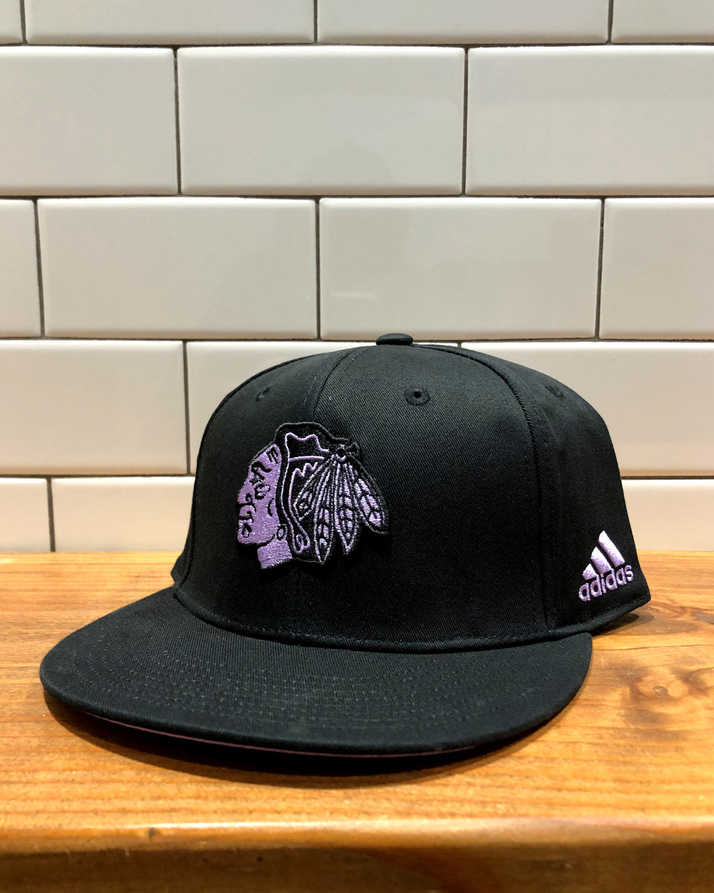 adidas Hockey Fights Cancer Snapback