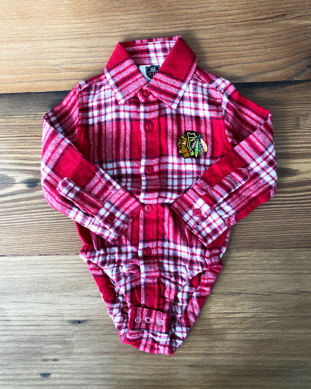 Infant Wes & Willy Flannel Button Down