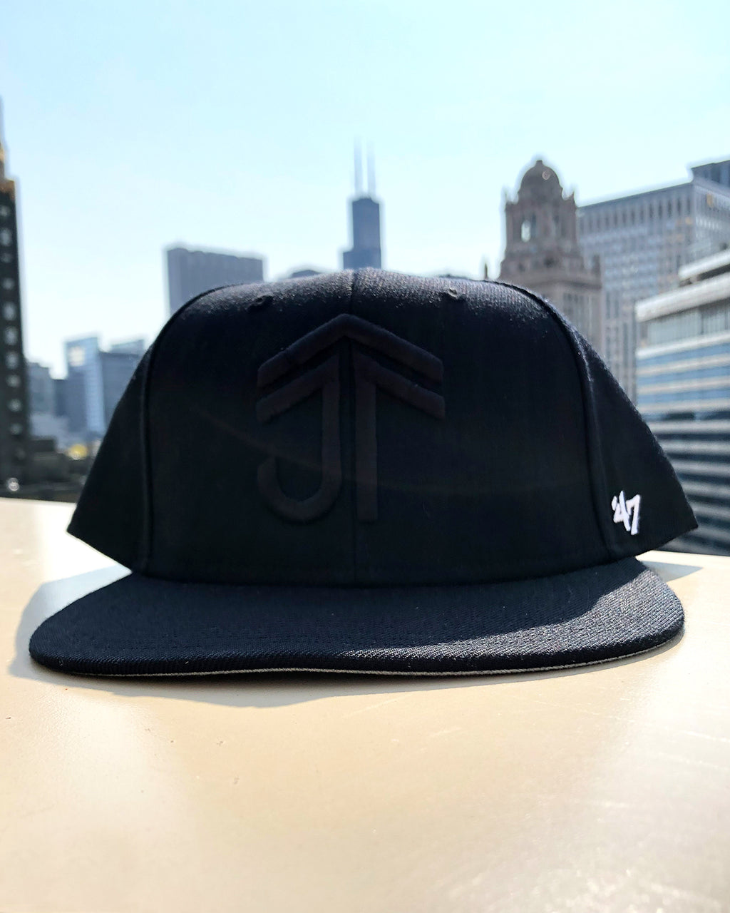JTF All Black Cap