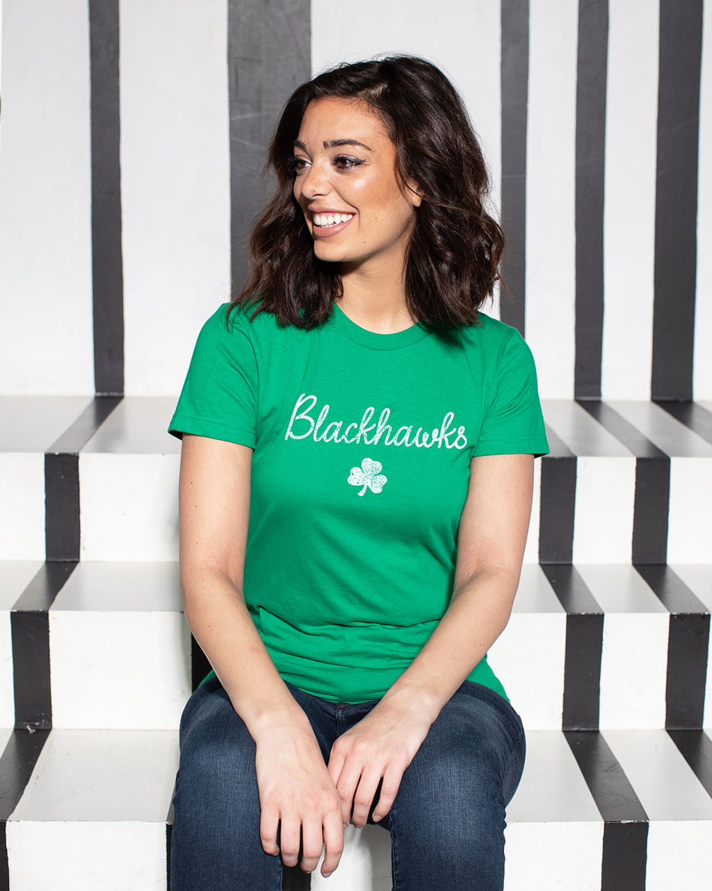 Ladies St. Patrick's Day Green Tee