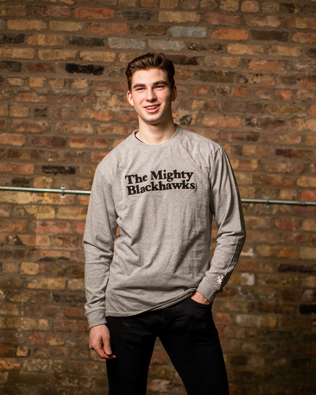 Archive Collection Mighty Blackhawks Long Sleeve