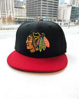 New Era Black & Red Fitted Cap