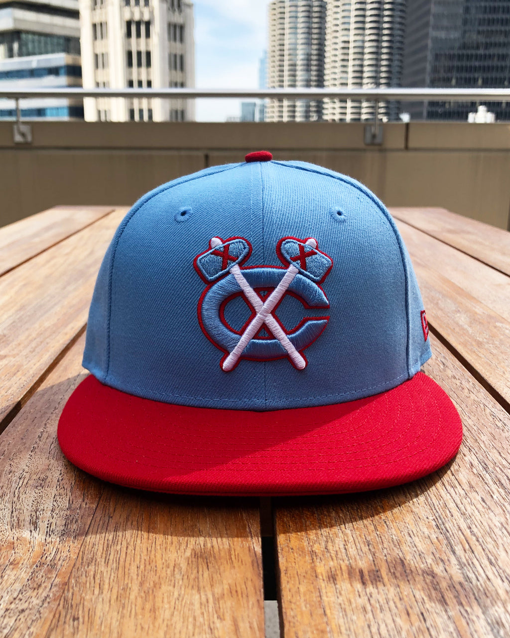 New Era City Tomahawk Fitted Cap