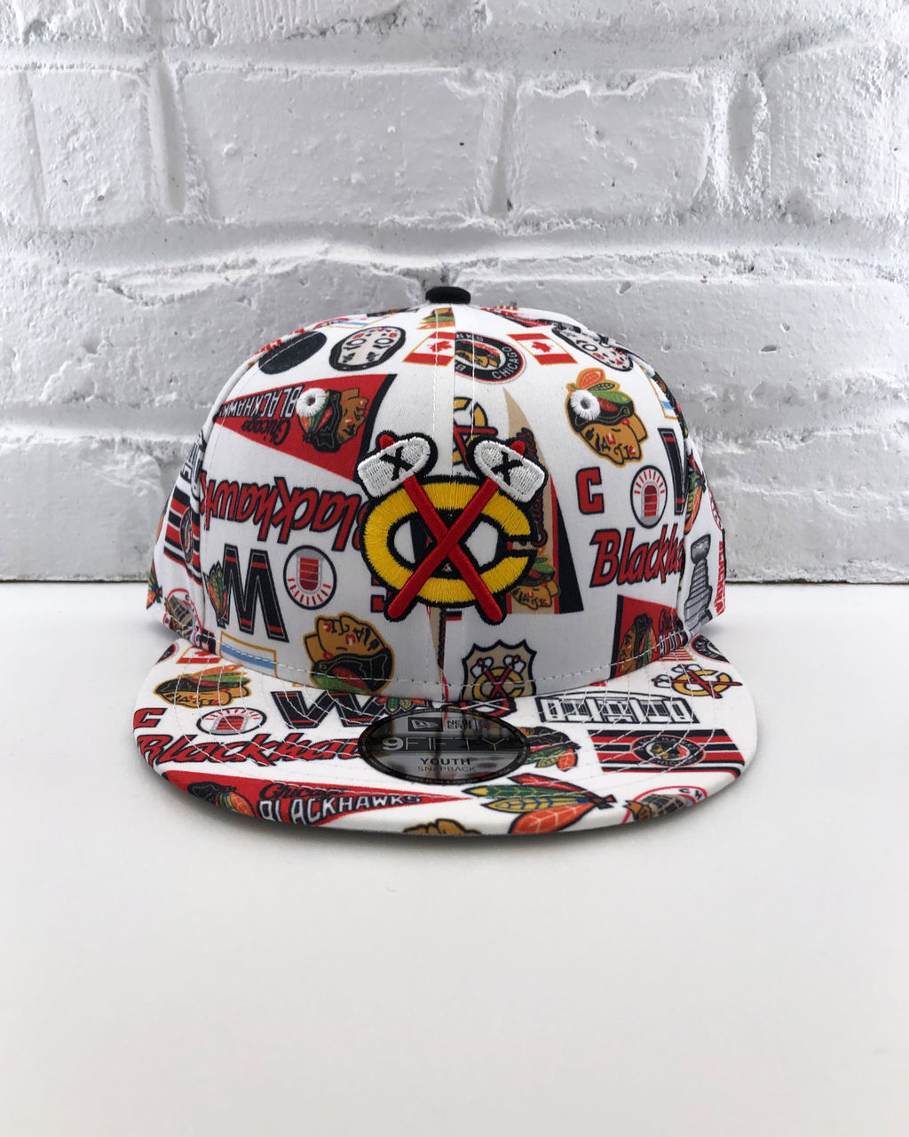 Youth New Era Allover Seabrook Cap