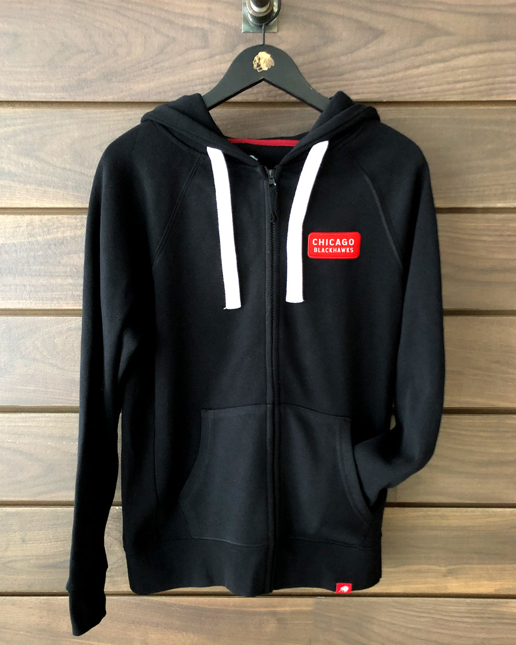 Sportiqe Red Word Full Zip
