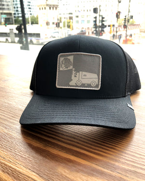 TravisMathew Black Resurfacer Cap